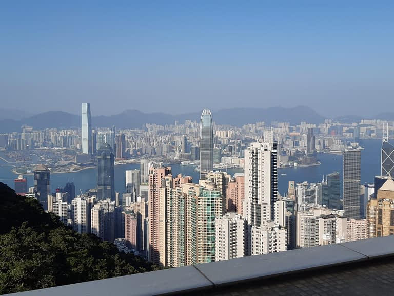 Hong Kong from ther Peak